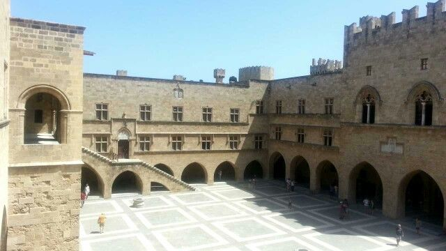 PALACE OF THE KNIGHTS OF ST . JOHN - RHODES