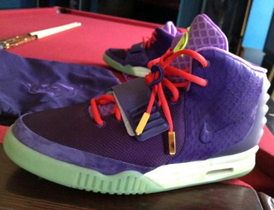 Nike Air Yeezy 2's. Not sure if I like them because they look like dinosaurs.