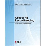 Critical HR Recordkeeping