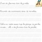 This is a cursive writing worksheet for I made for my grade 3 and 4 French Immersion class. It has a French saying, the explanation of the saying, ...