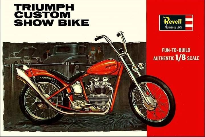 vintage revell model chopper kits - Google Search