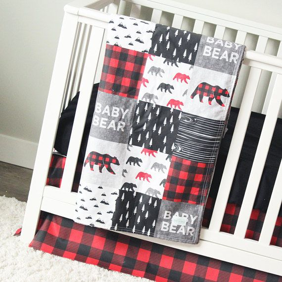 Baby Bear Woodlands Crib Bedding