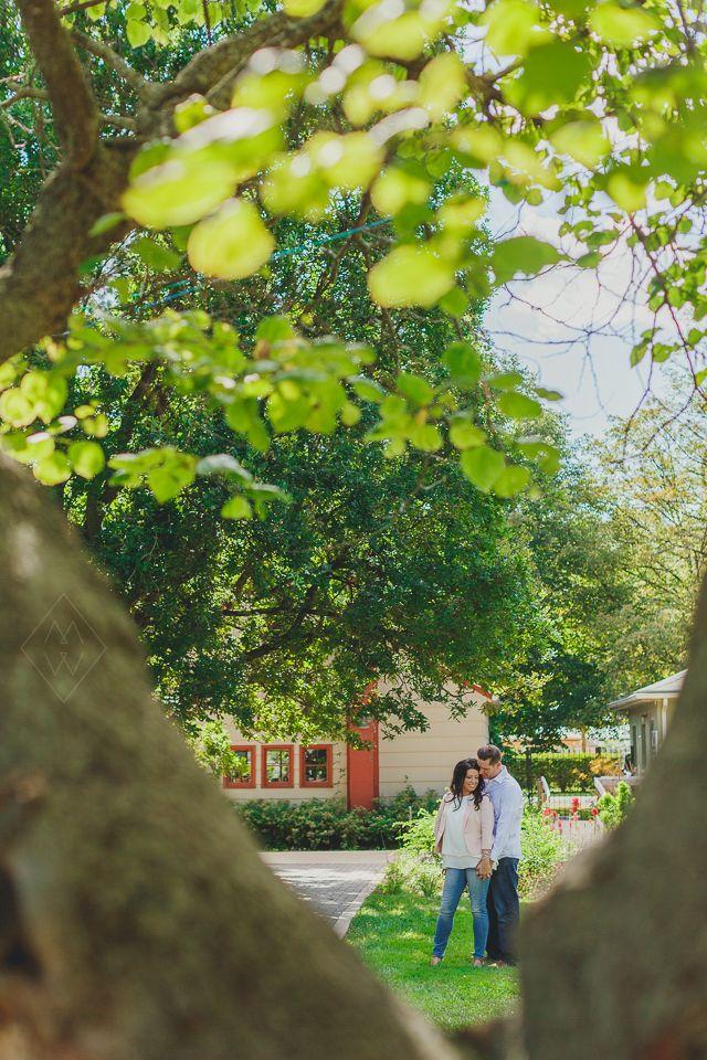 Toledo Botanical Gardens Wedding Engagement Shoot By Mary Wyar Photography Marywyar
