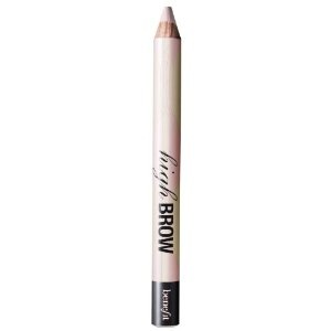 High Brow - Get expressive brows in seconds with this brow lifting and enhancing pencil. With one quick stroke directly under the arch of your brow, this soft, oyster-pink pencil instantly adds lift and life to the entire eye area. Apply pencil under your brow following the arch. Lightly blend. For more arch appeal, put two dots above the arch & blend.