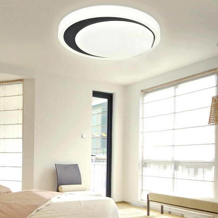Buy White Flush Mount LED Dimmable Light Living Room Bedroom Study Room Dining Room with Lowest Price and Top Service!
