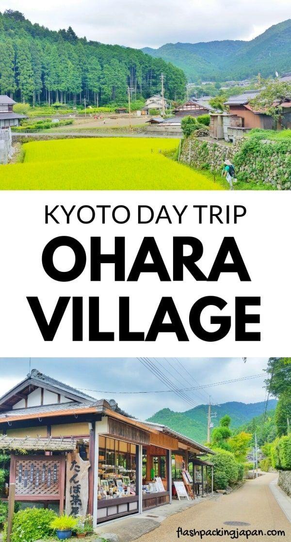 Ohara Rural Village Day Trip Photos Day 5 Kyoto Itinerary