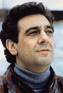 Placido Domingo used a ringing and dramatic tone as he sang, which caused him to become so popular