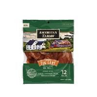 American Farms Pig Ear Bagged - Smoked - 12 pack