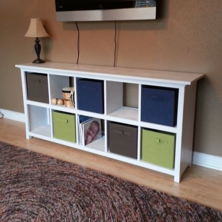 10 Cube Shelf | Do It Yourself Home Projects from Ana White