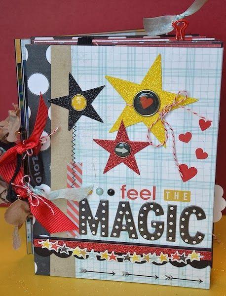 Disney mini album: Feel the MAGIC by Darla Weber #SimpleStories