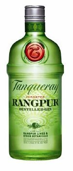 Tanqueray Rangpur Distilled Gin ~ Light Rangpur lime flavor highlights the gin's juniper base. Refreshing gin, great for simple mixed drinks. Pairs well with cranberry juice or ginger ale. A nice alternative to the drier gins. Cons  Is not the best gin for the dirty or dry cocktails. Description  Distilled with Rangpur limes, juniper, bay leaf, ginger and other botanicals. Produced by Tanqueray