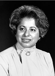 Patricia Roberts Harris - first African American woman to represent the United States as an ambassador, among many other firsts...