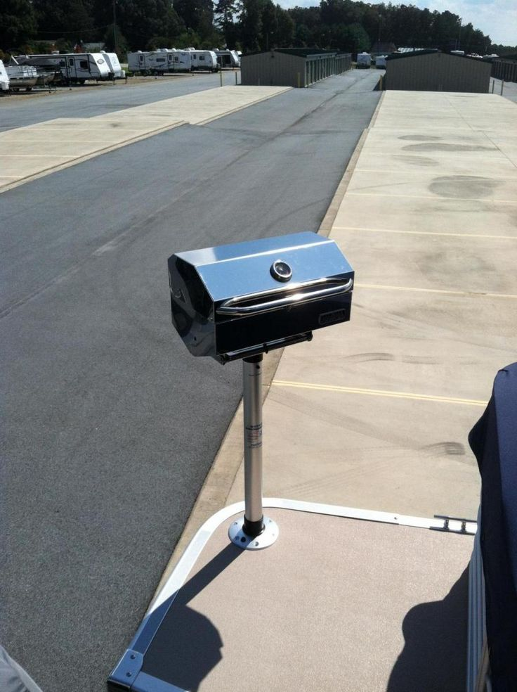Magma Newport Series IR Grill - Grill Install - Gallery - Bennington Pontoon Boats Owners Forum
