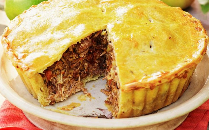 The ultimate savoury pie for cool weekend evenings with your family - the delightful combination of warm apple and slow-cooked pork with a fennel crust will impress the fussiest of eaters. Recipe by the Australian Women's Weekly.
