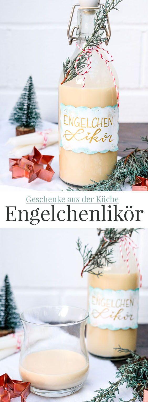 Die helle Freude: Rezept Engelchenlikör. – DIY Food / Essen / Backen / Getränke / Geschenke aus der Küche