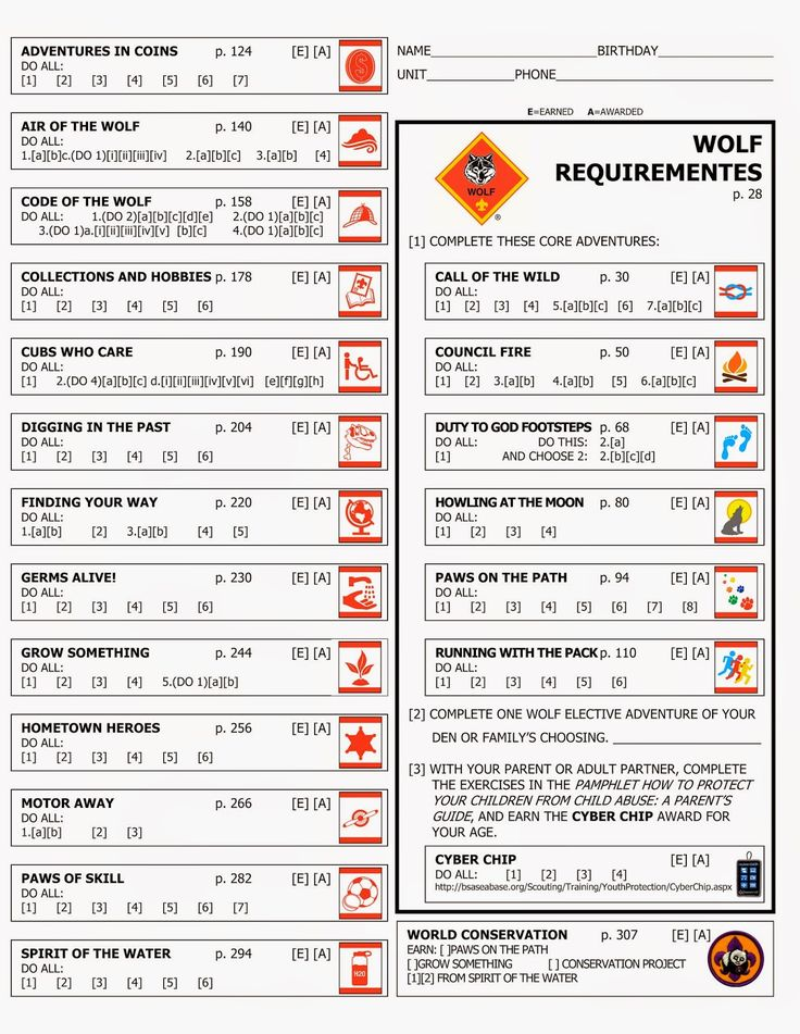 cub scout wolf handbook 2016 pdf