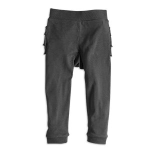 Trousers with frills - Lindex
