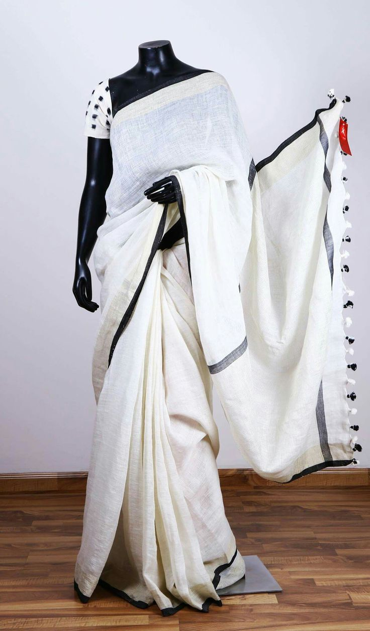 White saree