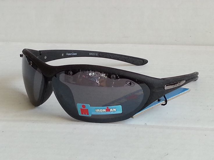 #Ironman Sport Men sunglasses V Sweep model black shatter resistant NWT visit our ebay store at  http://stores.ebay.com/esquirestore
