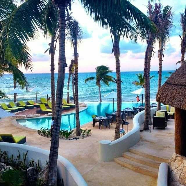 The New and improved Mahekal Beach Resort, Playa del Carmen.