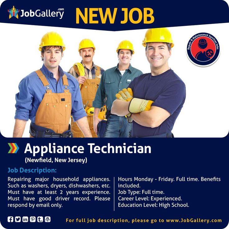 215 best Job Postings images on Pinterest Gallery, Entry level - appliance repair sample resume
