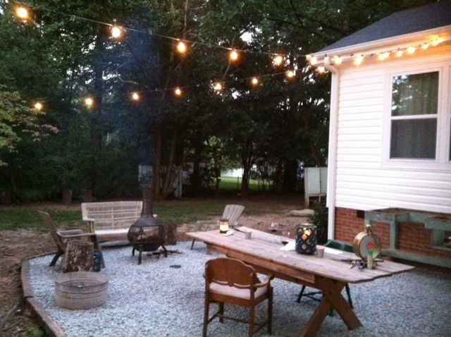 Porch Vs Deck Which Is The More Befitting For Your Home: 36 Best Images About Gravel Patio Ideas! On Pinterest