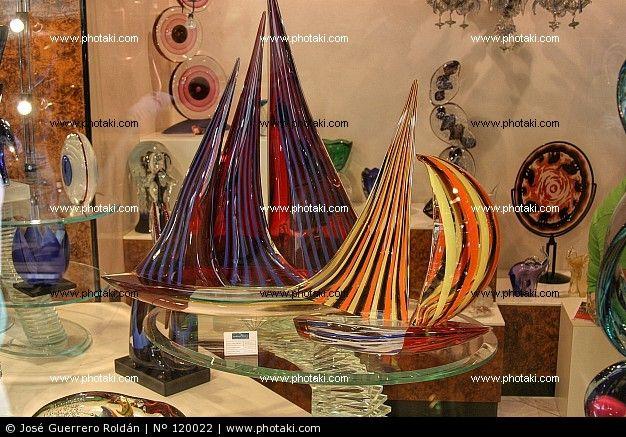 Barche in vetro di Murano, Venezia