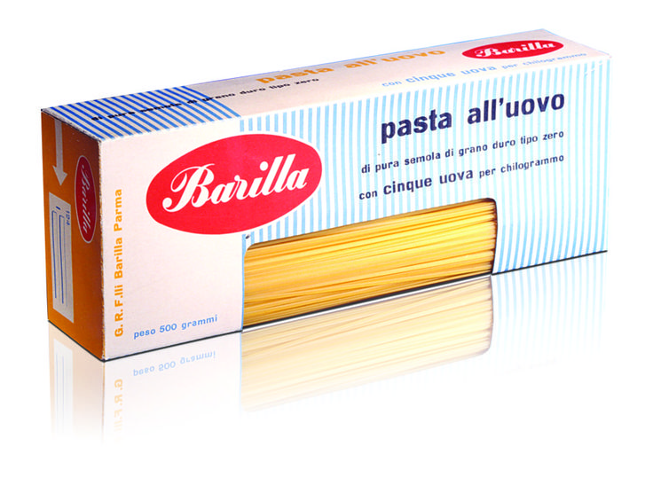 Barilla Pasta Packaging by Erberto Carboni | 1956