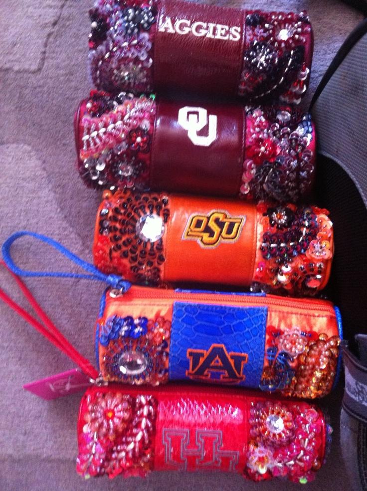 Laura Lee Designs Sparkle U Collegiate Licensed Handbags from Texas A, OU, OSU, and Auburn.: Collegiate License, Laura Lee, Design Sparkle, Licen Handbags, A M Aggie, Lee Design, Texas A M, License Handbags