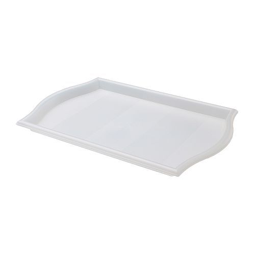 "SMULA Tray - IKEA -- Spirit Play-recommended tray for price and size -- $1.99, 20"" long -- good general work tray for art response"