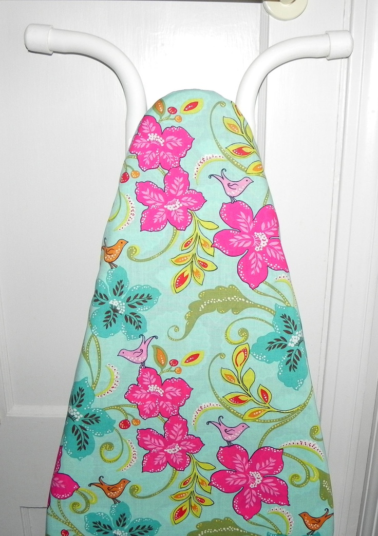 Ironing Board Cover  - Tropical Birds and Flowers - would like to make one like this!