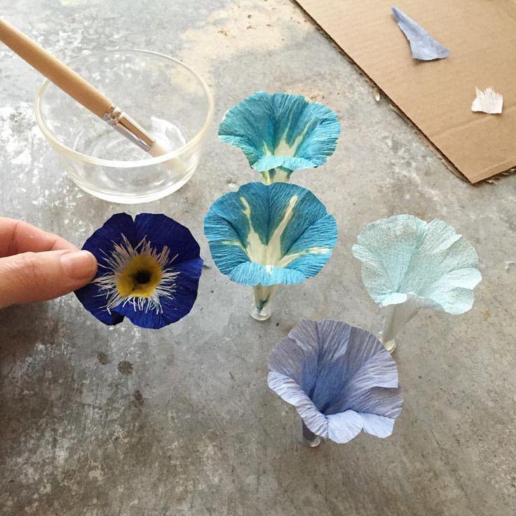 """1,887 aprecieri, 58 comentarii - Tiffanie Turner (@tiffanieturner) pe Instagram: """"My pretties #paperflowers"""""""