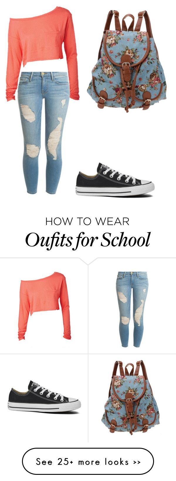 """Back To School"" by lydiamarie258 on Polyvore"