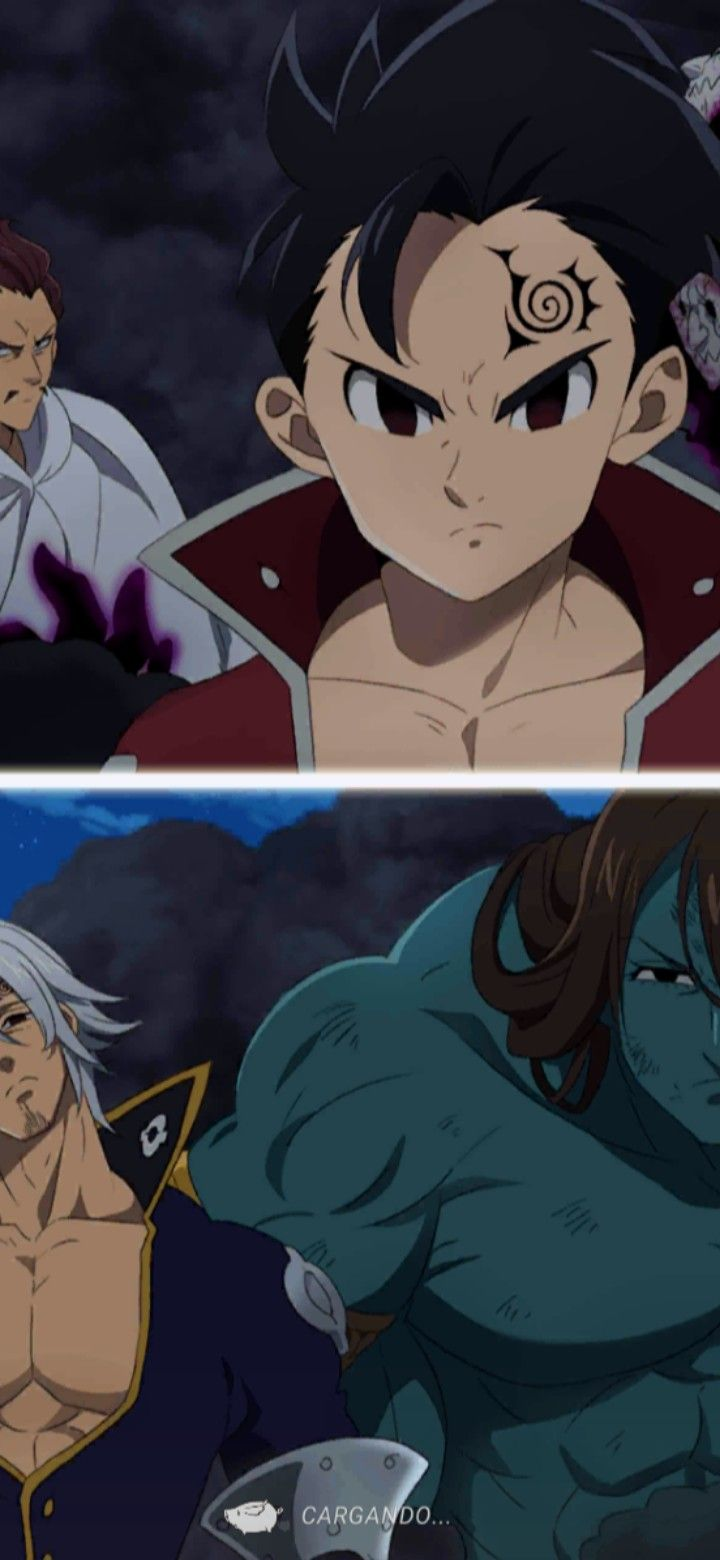 10 Mandamientos In 2021 Seven Deadly Sins Anime Anime Manga Covers