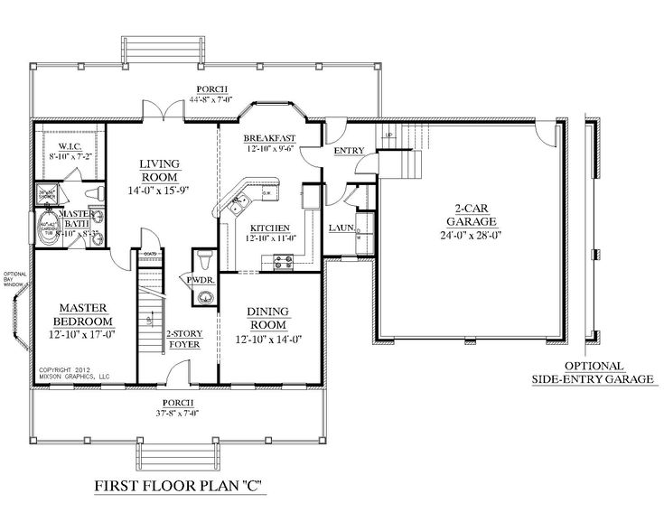 1 1 2 Story Homes Floor Plans