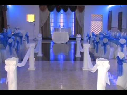 Beautiful Indoor Wedding Ceremony and Reception by Fusion Banquet Hall - YouTube