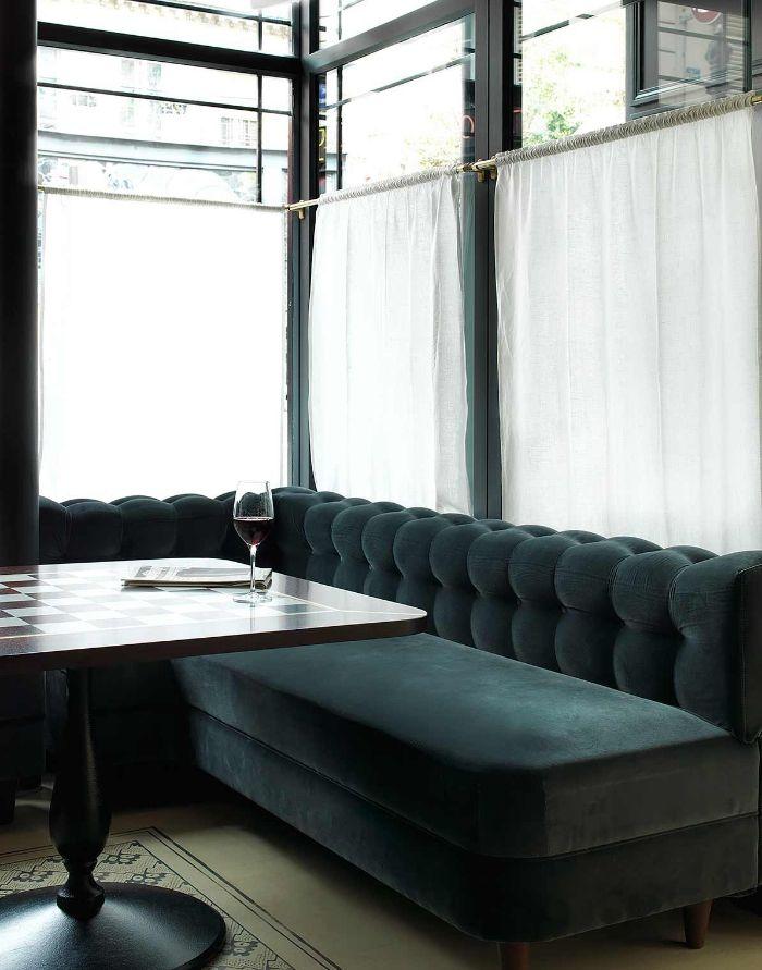 Un restaurant décoré par Dorothée Meilichzon |   Décoration restaurant - design - déco