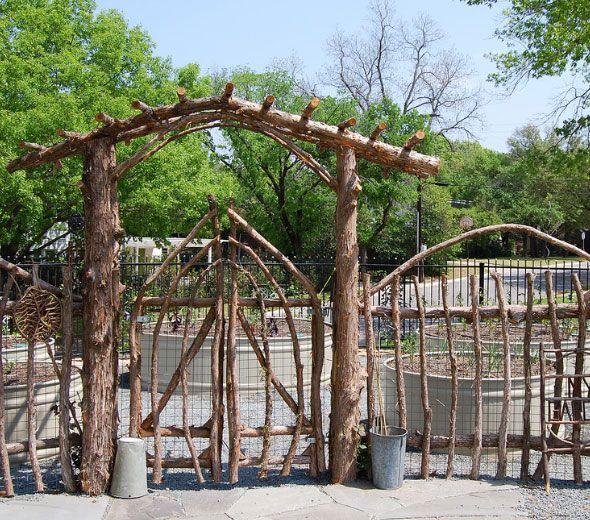Hgtv Garden Design Ideas: 12 Budget Beating Garden Fencing Ideas