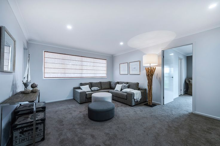 #Interior #design #ideas from Ausbuild's Ellison display #home, with this signature #drift-wood standing #lamp. www.ausbuild.com.au