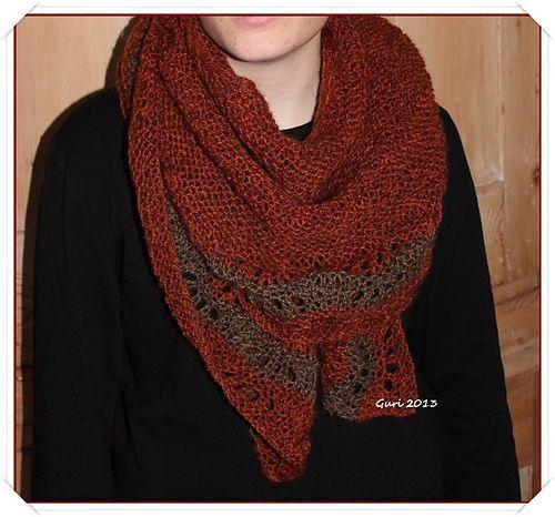 Ravelry: Gurigurimalla's Warm shawl