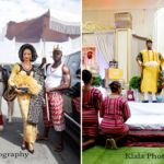Photos from a Royal Wedding between a Nigerian Prince and a Nigerian Princess.
