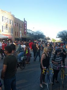 South by South West 6th street in Austin SXSW. I hope to be there for it next year
