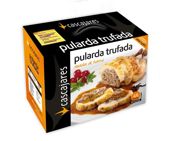 Pularda de Cascajares Trufada  //  Precio unidad 59,90 euros (IVA incluido)