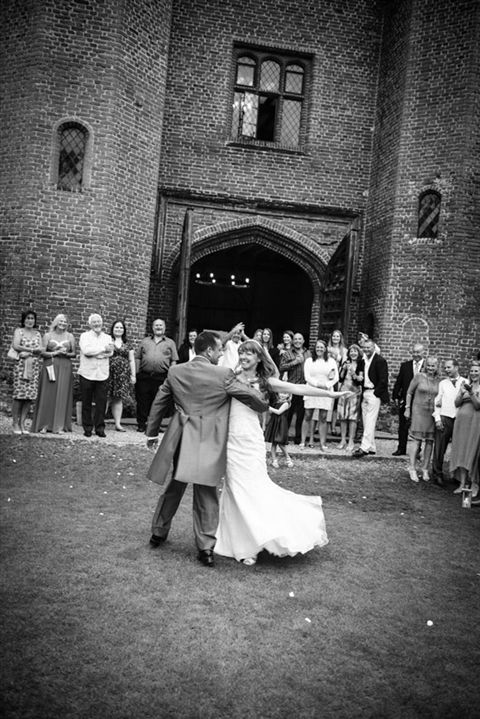 Dance like no-ones watching... and outside.. love it for a first dance!