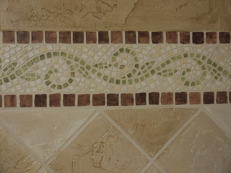 27 Best Mosaic Tile Borders Images On Pinterest Ravenna