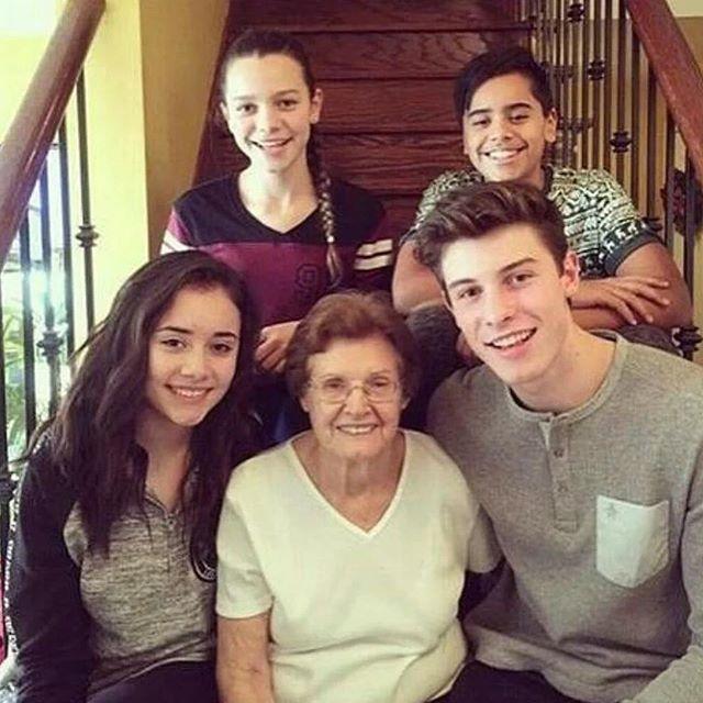 Rai Melanie Mendes @sellyismyrevival Family  @shawnme...Instagram photo