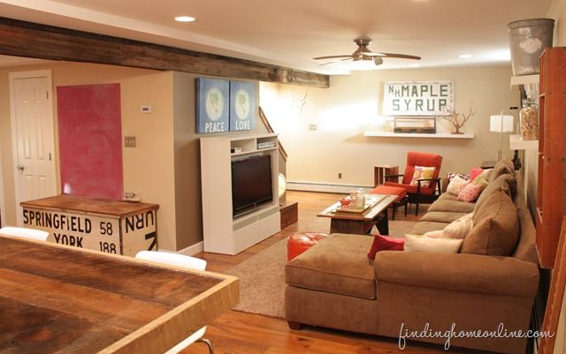 25 best ideas about basement family rooms on pinterest basement furniture inspiration - Small finished basements for teenager girls ...
