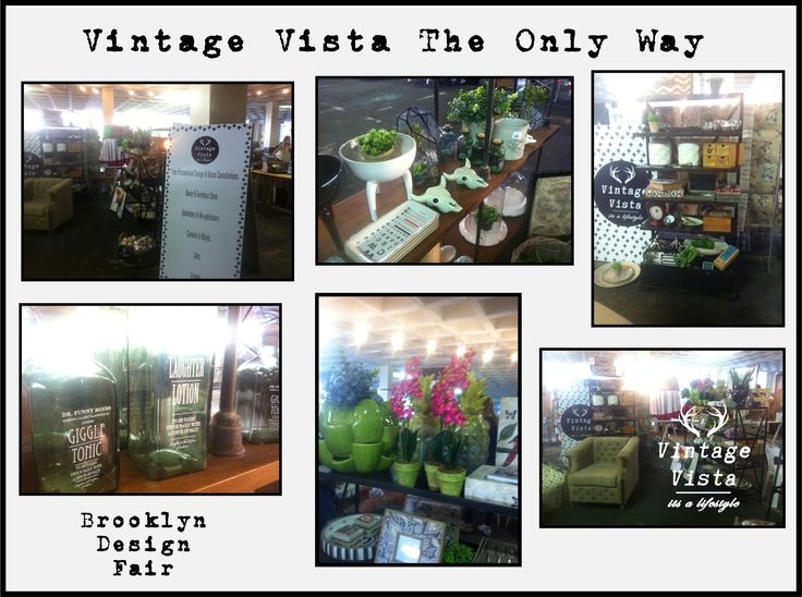 Vintage Vista was trending our new stock at this months Brooklyn Design Fair.