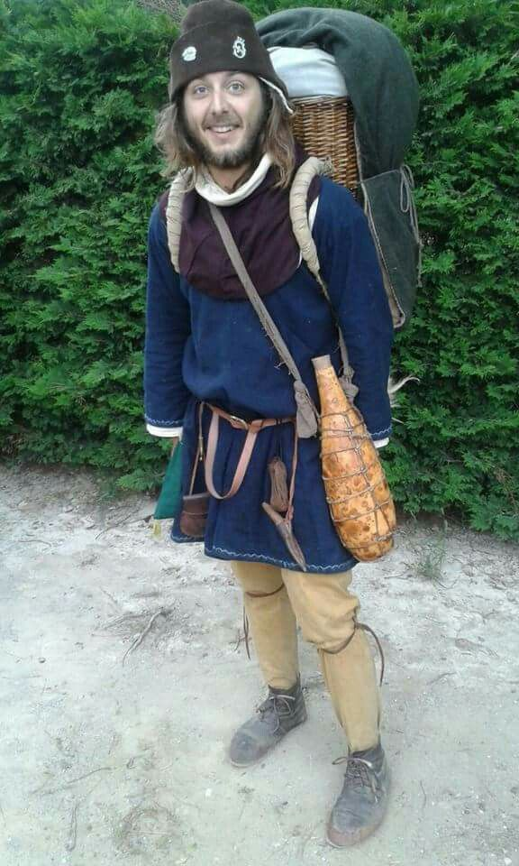 Medieval religious pilgrim
