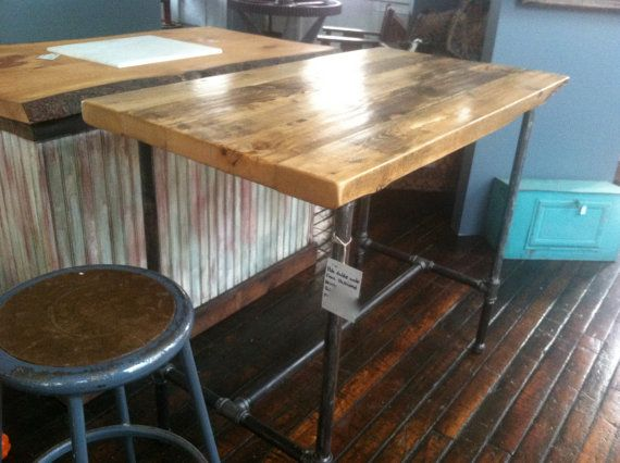 salvaged wood kitchen island reclaimed wood rustic modern kitchen island or table by 21607